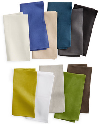 Chilewich Solid Linen Napkin Table Linens Dining