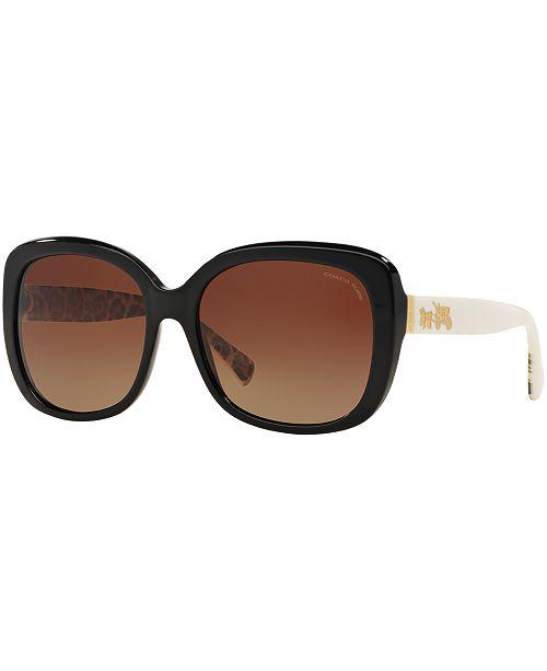 04fcf918745e COACH Polarized Sunglasses