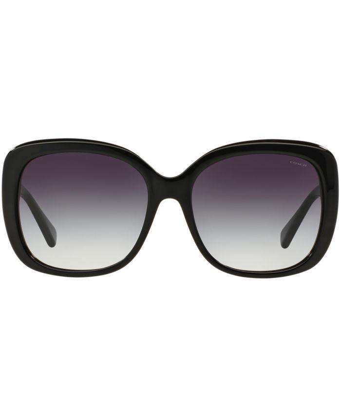 COACH Sunglasses, HC8158 & Reviews - Sunglasses by Sunglass Hut - Handbags & Accessories - Macy's