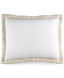 Voile Quilted King Sham, Created for Macy's