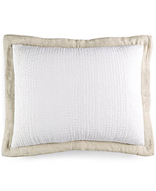 Hotel Collection Voile Quilted King Sham, Created for Macy's