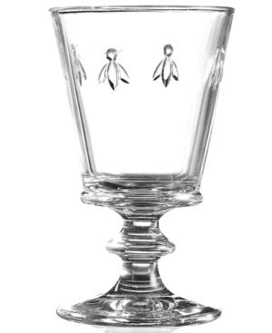 La Rochere Glassware, Set of 6 Napoleonic Bee Wine Glasses