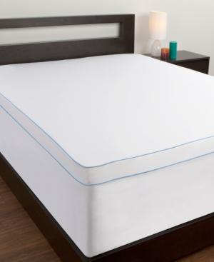 Comfort Revolution King Mattress Topper Protective Cover Bedding