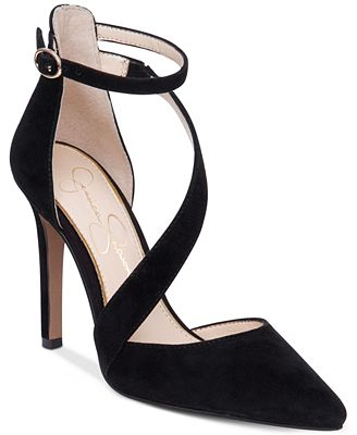Jessica Simpson Castana Strappy Pumps - Pumps - Shoes - Macy's