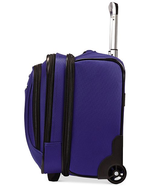 Samsonite Closeout Liteair Rolling Mobile Office Created For Macy S Backpacks Luggage