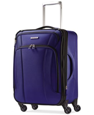 "Image of Samsonite LiteAir 20"" Carry On Expandable Spinner Suitcase, Only at Macy's"