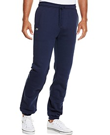 Fleece Sweat Pants with Elastic Leg Opening