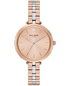 Women's Holland Two-Tone Stainless Steel Bracelet Watch 34mm 1YRU0860