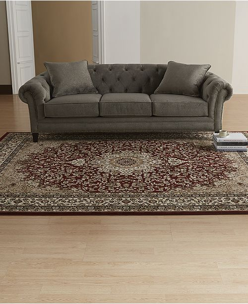 Kenneth Mink Closeout Km Home Rugs Princeton Ardebil Red