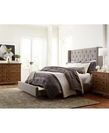 Rosalind Upholstered Storage Platform Bedroom Furniture Collection