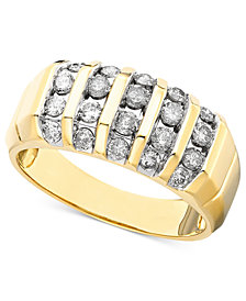 Men's Diamond Ring in 14k Gold (1 ct. t.w.)