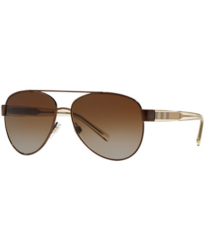 Burberry Polarized Sunglasses, BE3084