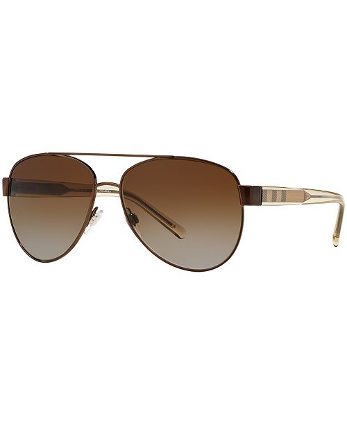 07bd91a05c646 Burberry Polarized Sunglasses