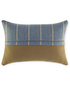 "CLOSEOUT! Croscill Captain's Quarters 19"" x 13"" Boudoir Pillow"