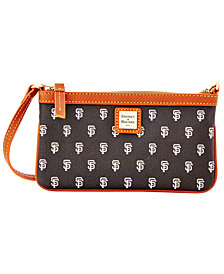 Dooney & Bourke San Francisco Giants Large Slim Wristlet