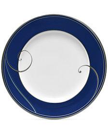 Noritake Platinum Wave Indigo Porcelain Bread & Butter Plate