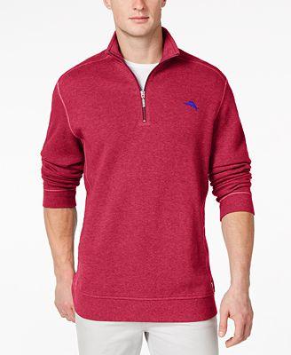 Tommy Bahama Big and Tall Antigua Cove Half-Zip Sweater - Sweaters ...