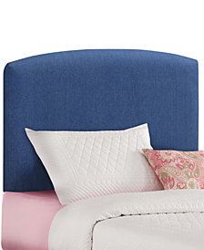 Gina Twin Upholstered Headboard, Quick Ship