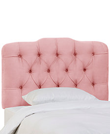 Brooke Full Tufted Headboard, Quick Ship