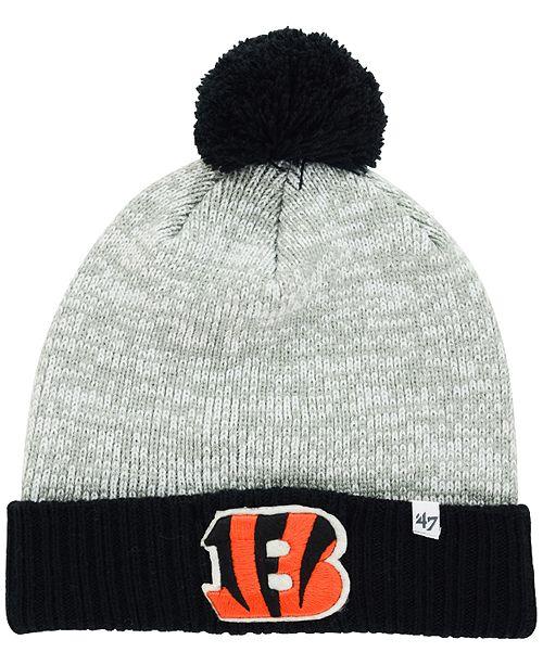 7b80f32c3 Cincinnati Bengals Coverage Knit Hat  Cincinnati Bengals Coverage Knit Hat  ...