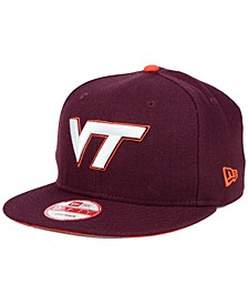 Virginia Tech Hokies Core 9FIFTY Snapback Cap