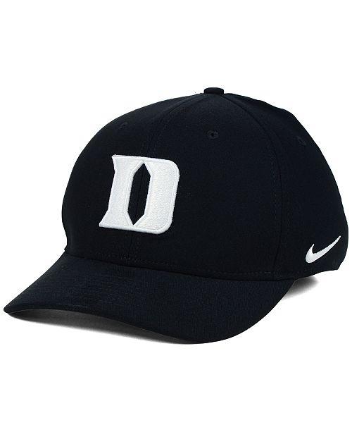 Nike Duke Blue Devils Classic Swoosh Cap - Sports Fan Shop By Lids ... b48baa3f29ae