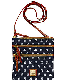 Dooney & Bourke New York Yankees Triple Zip Crossbody Bag