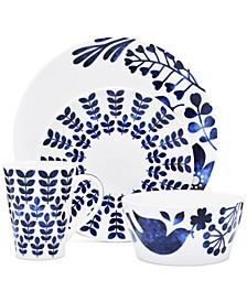 Sandefjord Porcelain 4-Pc. Coupe Place Setting