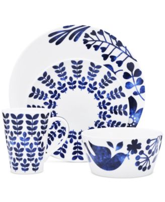 Noritake Sandefjord Porcel.  sc 1 st  Macyu0027s & Noritake Dinnerware Sandefjord Collection - Dinnerware - Dining ...