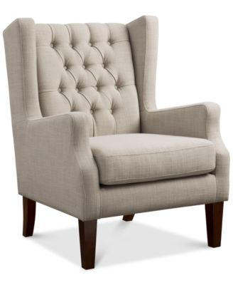 Stedman Fabric Accent Chair Quick Ship  sc 1 st  Macyu0027s & Tufted Accent Chairs and Recliners - Macyu0027s islam-shia.org