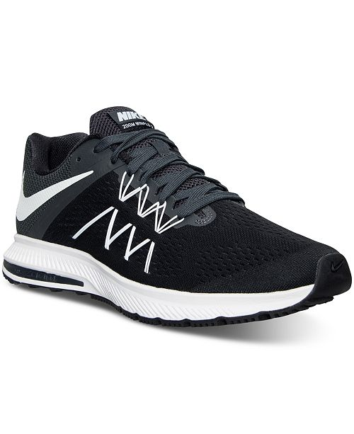 super popular f9d7d ec1f5 Nike Men's Air Zoom Winflo 3 Running Sneakers from Finish ...