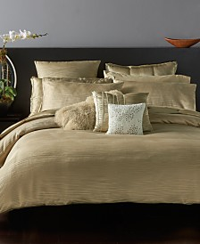 Donna Karan Home Reflection Gold Dust Bedding Collection