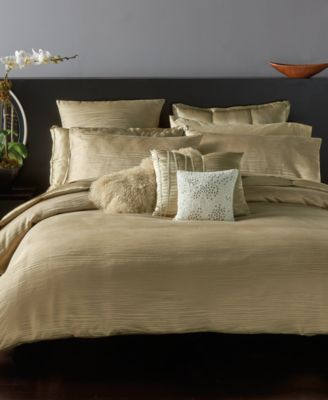 donna karan home reflection gold dust duvet covers