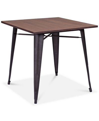 Zuo Walker Wood Dining Table, Quick Ship