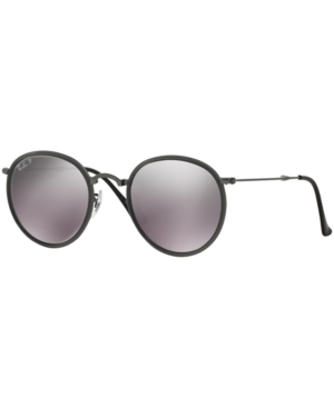 Ray-Ban Sunglasses, RB3517 Round Folding