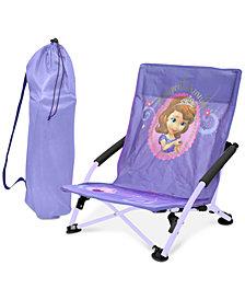 Disney Sofia the First Kids Folding Lounge Chair, Quick Ship