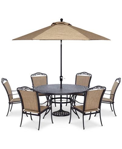 Beachmont II Outdoor 7-Pc. Dining Set (60