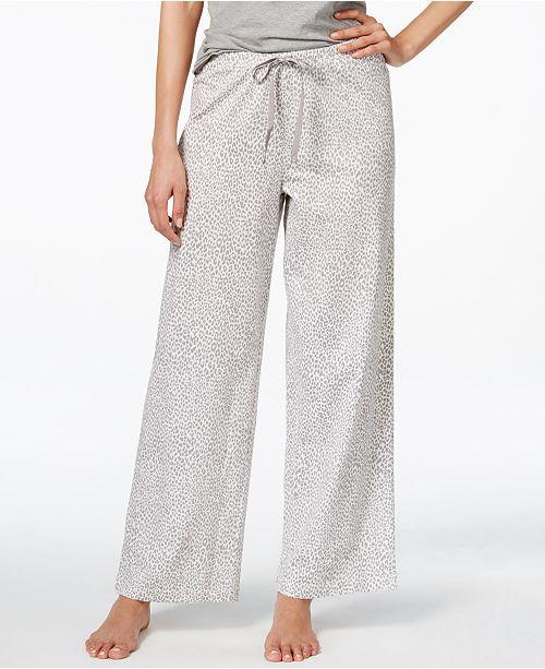 Hue Cheetah-Print Pajama Pants