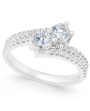 Two Souls, One Love Diamond Anniversary Ring