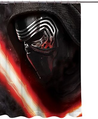 Jay Franco Kylo Ren Star Wars 7 Shower Curtain