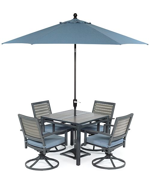 Macys Furniture Clearance: Furniture CLOSEOUT! Harlough Outdoor Dining Collection