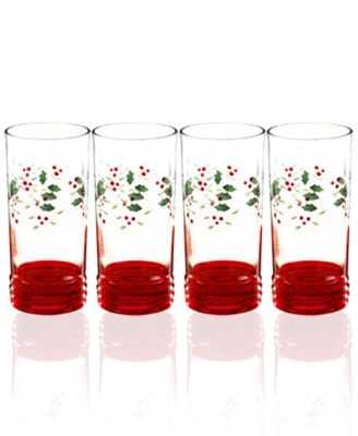 Winterberry Highball Glass, Set of 4