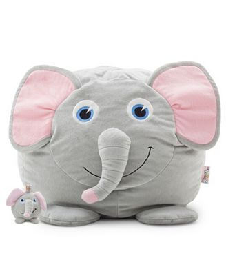 Emerson the Elephant Bean Bag, Direct Ship