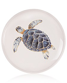 Cape Coral Collection Turtle Accent Plate