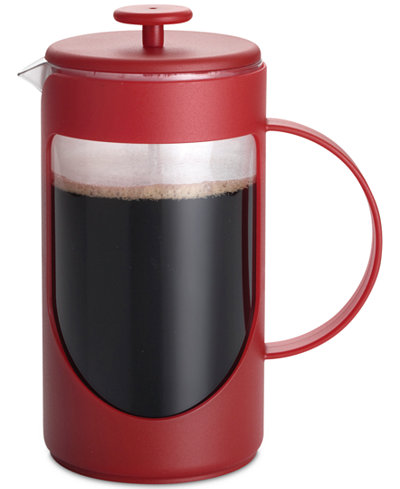 BonJour Ami-Matin 3-Cup Red French Press