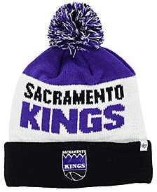 '47 Brand Sacramento Kings Crossblock Knit Hat