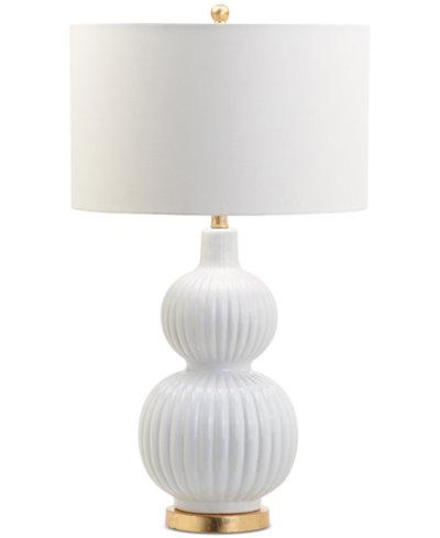 Decorator's Lighting Odyssey Ceramic Gourd Table Lamp