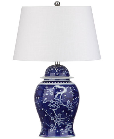 Decorator's Lighting Dalton Painted Table Lamp