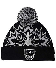 New Era New Jersey Nets Glowflake Knit Hat
