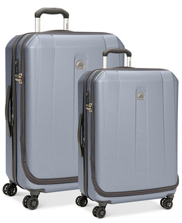 macy 39 s delsey helium shadow 3 0 hardside spinner luggage combo on sale for to fs. Black Bedroom Furniture Sets. Home Design Ideas